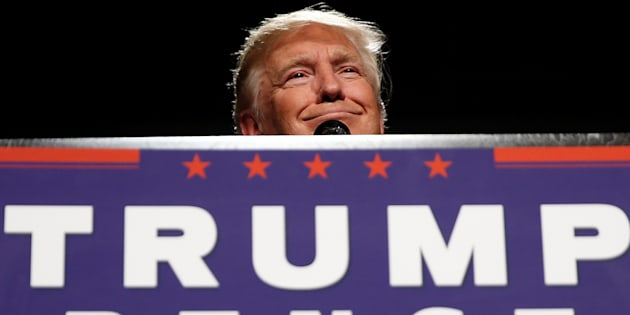 Donald Trump dans le Michigan le 31 octobre 2016