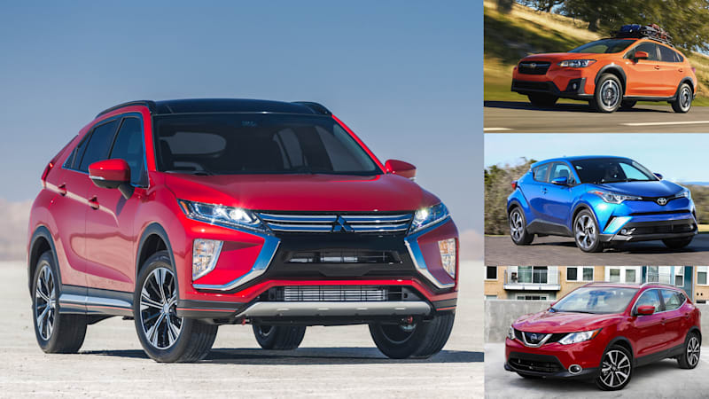 Eclipse Cross Vs Toyota C Hr Subaru Crosstrek Nissan Rogue Sport