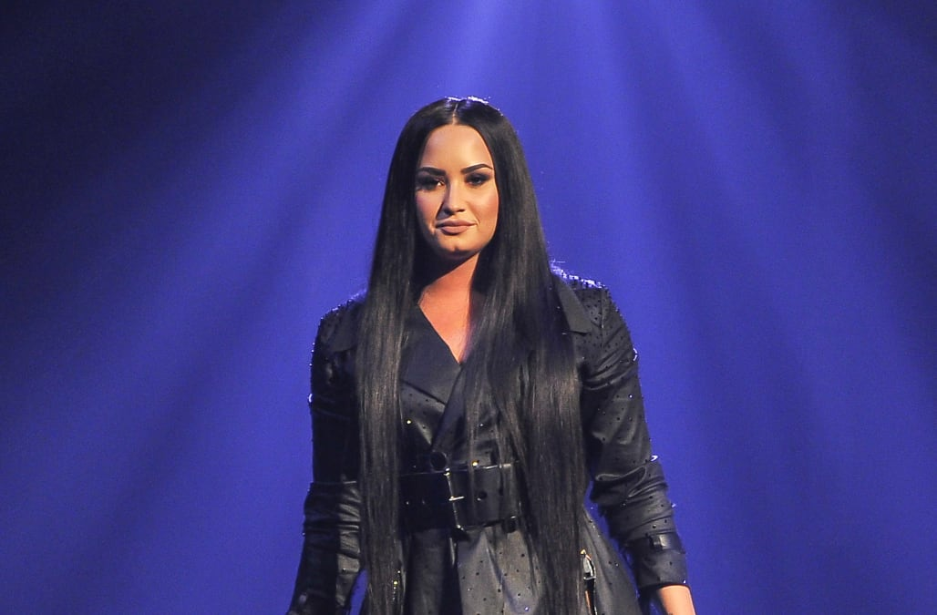 Newly sober Demi Lovato reveals what she drank on New Year's