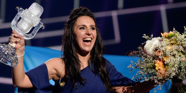 Jamala qui avait remporté l'Eurovision pour l'Ukraine.