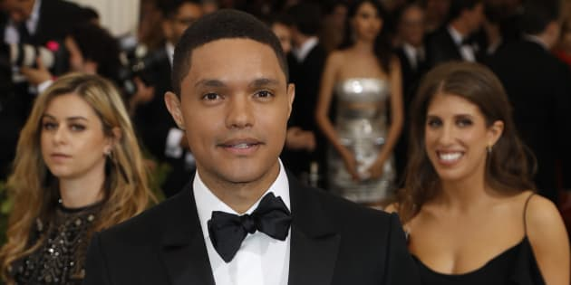 Trevor Noah at the Met Gala.