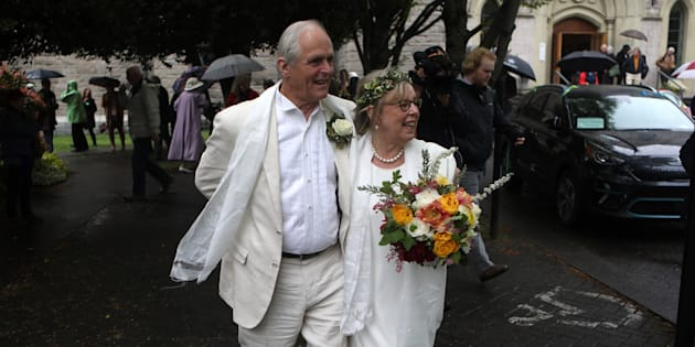 Elizabeth May Celebrates Earth Day With A Very Green Wedding