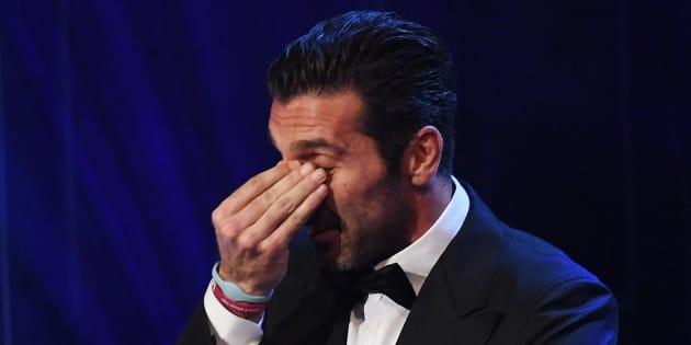 La Fifa incorona Gianluigi Buffon miglior portiere al mondo e lui scoppia a piangere