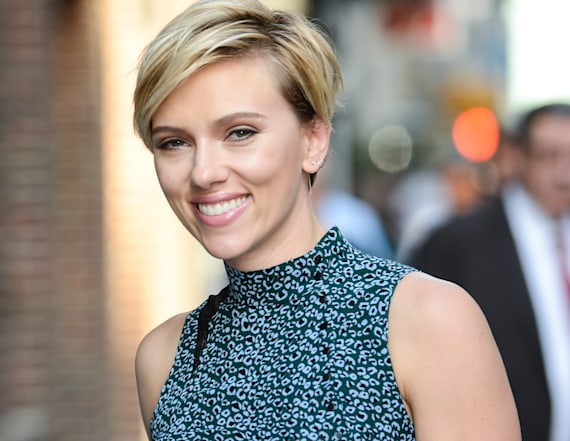 Scarlett Johansson unveils massive new back tattoo