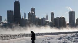 Los efectos de la ola de frío en EEUU: se congelan hasta las