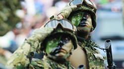 FOTOS: Desfilan las Fuerzas Armadas en CDMX por aniversario de la