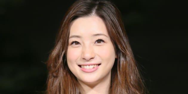 女優の足立梨花さん=2016年11月