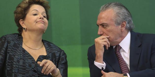 O que há em comum no comportamento do presidente Michel Temer e da ex-presidente Dilma Rousseff nas crises políticas.
