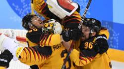 Hockey: le ministère des Affaires étrangères de l'Allemagne a une pensée pour les Canadiens