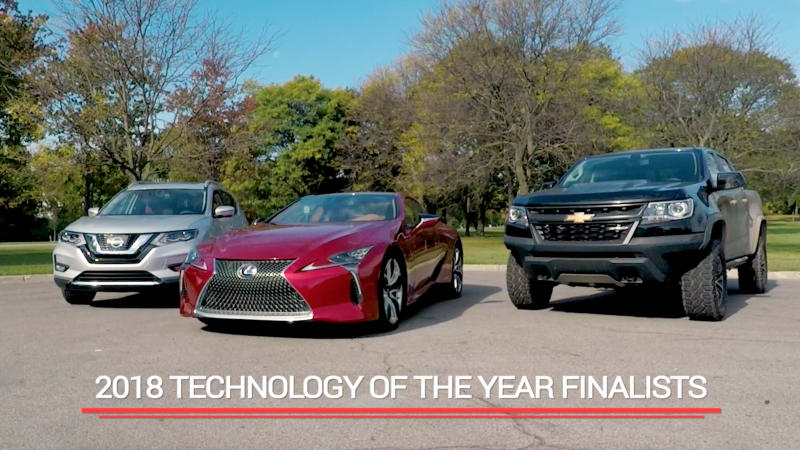 photo image 2018 Autoblog Technology of the Year finalists