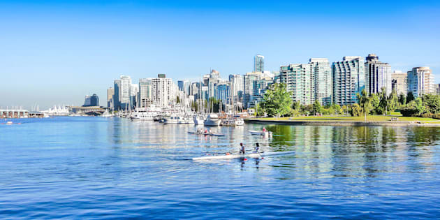 Skyline of Vancouver, B.C.