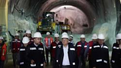 AMLO promete continuidad a las obras de infraestructura de la administración