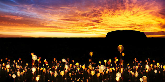 Field of Light is changing the way you see Uluru.
