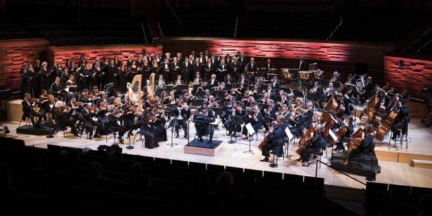 Les 80 ans de l'Orchestre philharmonique de Radio France  Et le centenaire de la Révolution d'Octobre