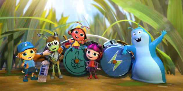 Beat Bugs airs July 25 on Channel 7 TWO.