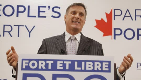 Maxime Bernier Plays The Game Of Risk On