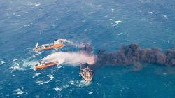 Affonda la petroliera iraniana, rischio marea nera nel Mar della