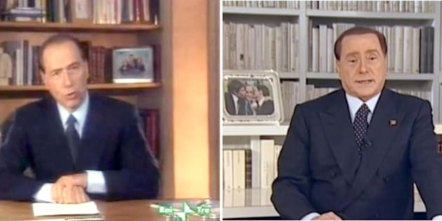 Berlusconi, #25YEARSCHALLENGE