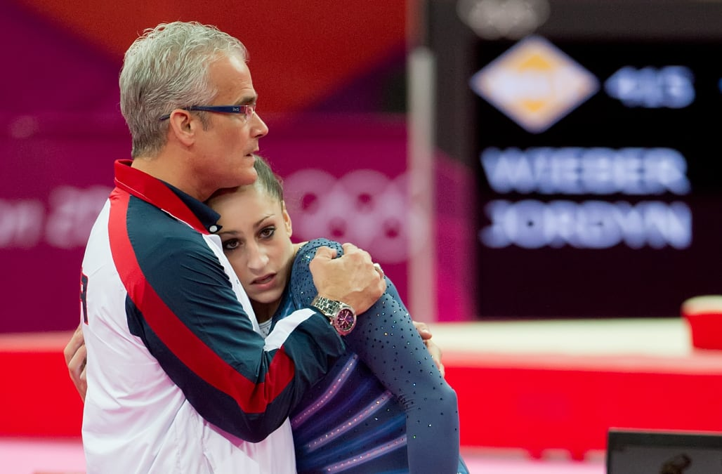 USA Gymnastics suspends former Olympic coach who worked ...