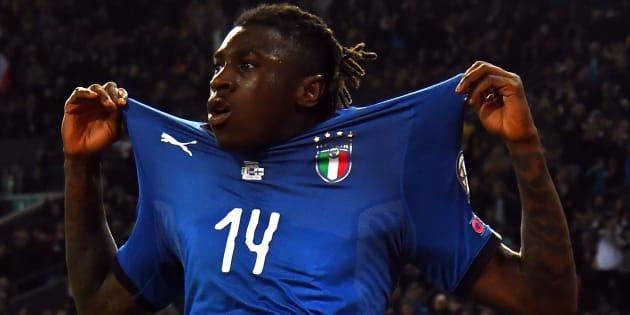 """Moise Kean, il cittadino del goal: """"Italiano è chiunque vive qui"""""""