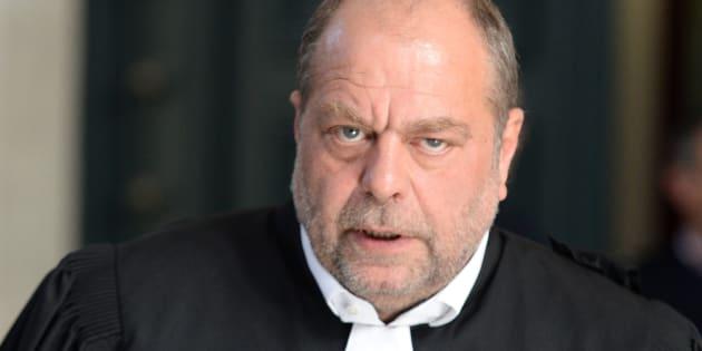 Eric Dupond-Moretti  au tribunal de Bordeaux le 10 mai 2016.