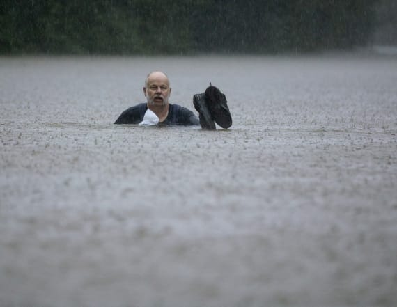 Torrential rains from storm submerge parts of Texas
