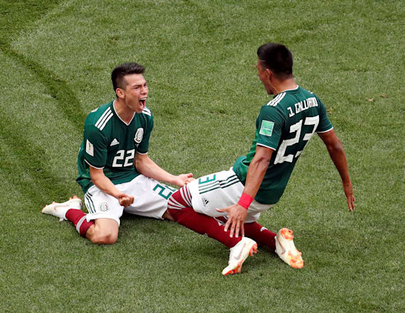 Mexican fans trigger 'earthquake' after huge win
