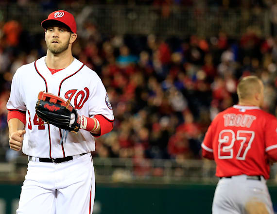 Bryce Harper says Mike Trout is MLB's best player