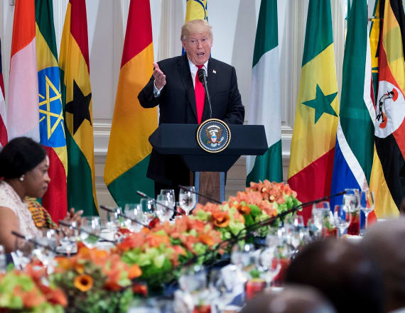 Trump praises nonexistent African country 'Nambia'