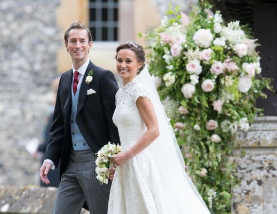 Pippa's wedding involved corny best man speech