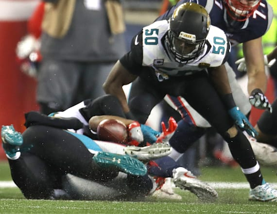 Jags' biggest play of AFC title game called dead
