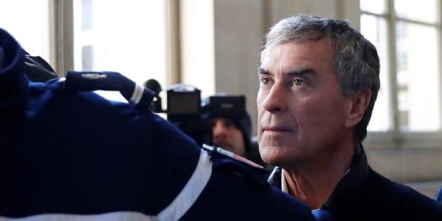L'ancien ministre du budget Jérôme Cahuzac, lors de son procès pour fraude fiscale, à Paris, le 12 février 2018.