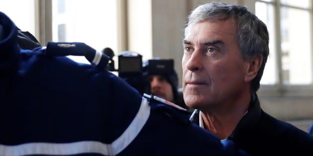 Jérome Cahuzac au Palais de justice de Paris, le 12 février.