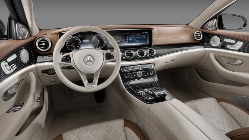 The 2017 mercedes benz e class interior is the new for Mercedes benz e350 interior