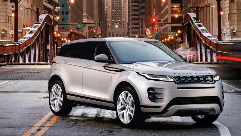 2020 Range Rover Evoque Drivers