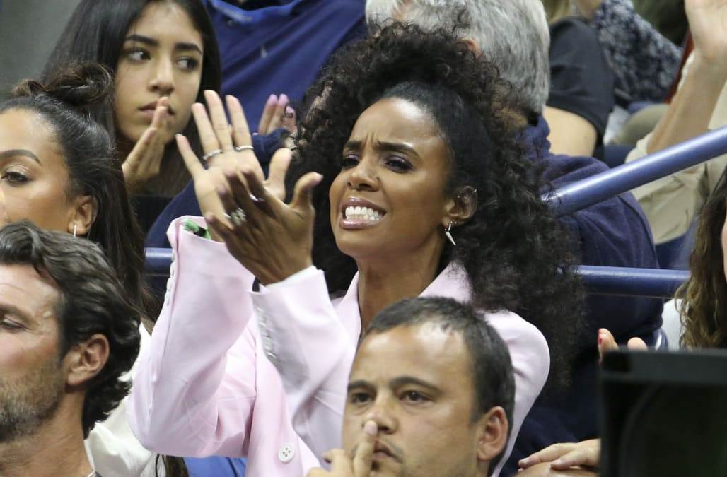 Kelly Rowland on being there for Serena Williams after US