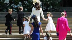 Le prince George et la princesse Charlotte en beauté pour le mariage