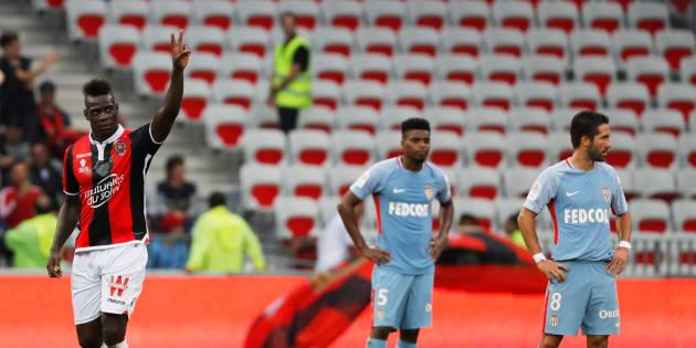 Monaco sombre face à Nice et libère le classement pour le PSG