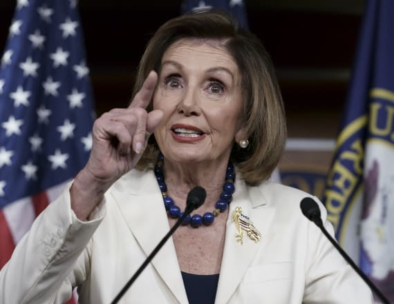Pelosi takes Trump's insult, fires it back at him