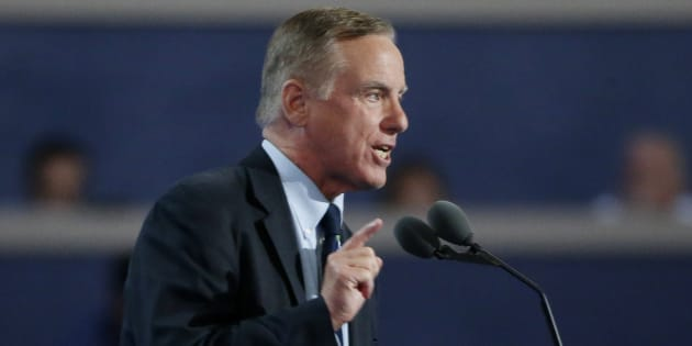 Former Vermont Governor and presidential candidate Howard Dean speaks at the Democratic National Convention in Philadelphia, Pa., July 26, 2016. Dean is among a number of prominent people who have joined the advisory board of Canadian cannabis firm Tilray.