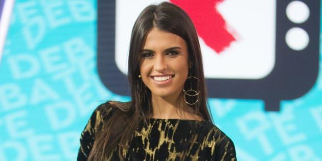 Sofía Suescun, durante el debate del programa 'Gran Hermano Revolution' el 25 de septiembre de 2017.