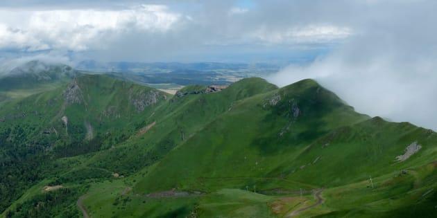 La Chaîne des Puys en Auvergne classée au patrimoine mondial de l'Unesco