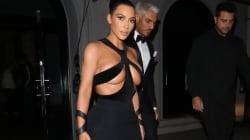 Kim Kardashian fait une sortie extrêmement
