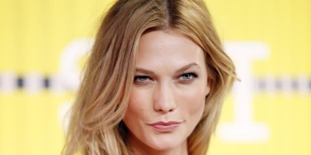 Model Karlie Kloss will hit the runway for David Jones in Sydney.
