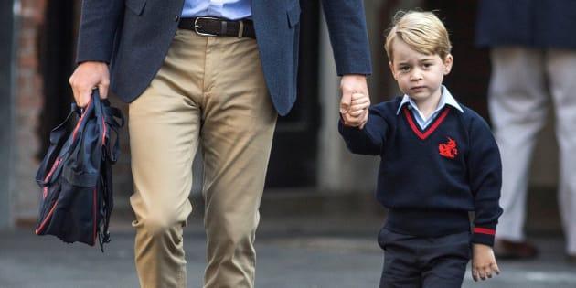Les repas servis dans la nouvelle école du prince George ne ressemblent pas à ceux de vos enfants (le Prince George le 7 septembre 2017)