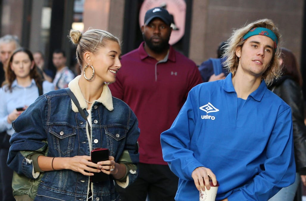 c10168b4bf9 Hailey Bieber (née Baldwin) opened up about the decision-making process  behind changing her last name after her wedding to husband Justin Bieber in  ...
