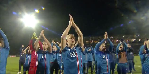Pour la première fois, on va voir le clapping des Islandais en Coupe du Monde
