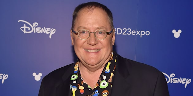 John Lasseter, en un evento de Disney en California en julio de 2017.