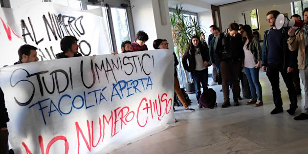 Università Statale, studenti in protesta: