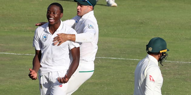 Hopeful South Africa name Rabada in Test squad